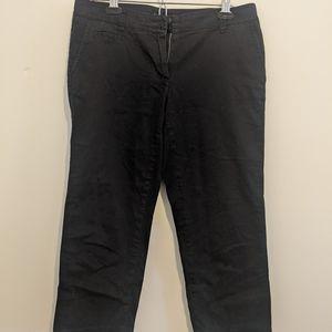 Black Tommy Hilfiger Cropped Pants